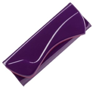 Christian Louboutin Purple Clutch