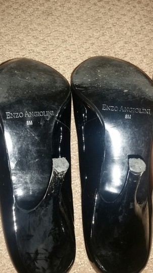 Enzo Angiolini BLACK Patent Leather Boots