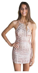 White Fox Boutique Sequin Party Dress