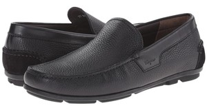 Salvatore Ferragamo King Of The Driver Mocassines Leather Sale Clearance black Flats
