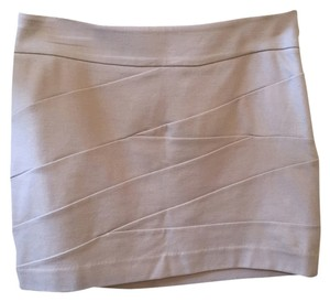 Express Bandage Mini Nwt Mini Skirt Tan