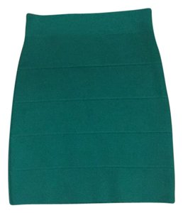 BCBGMAXAZRIA Skirt Green