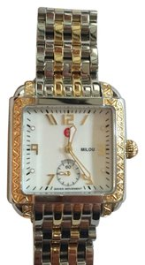 Michele Milou Two Toned Diamond Watch