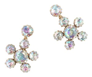 J.Crew J.Crew Women's Crystal Floral Earrings