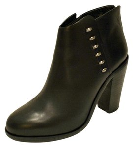 Rag & Bone Leather Bootie Black Boots