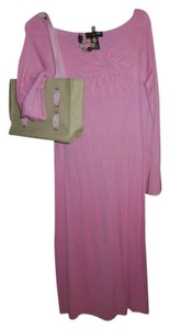 pink Maxi Dress by Metro Style Maxi Women's Mod Floral