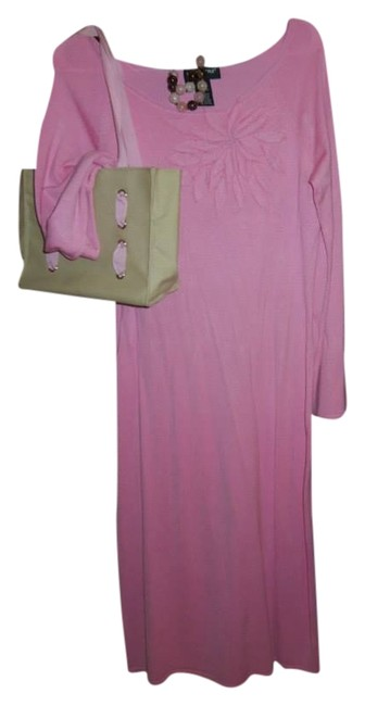 pink Maxi Dress by Metro Style Maxi Women's Mod
