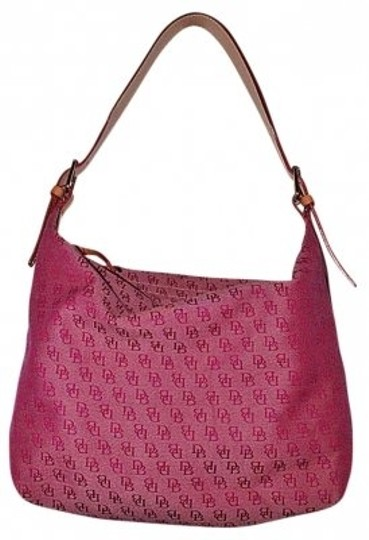 Preload https://item5.tradesy.com/images/dooney-and-bourke-shoulder-purse-tote-red-canvas-leather-hobo-bag-171854-0-0.jpg?width=440&height=440