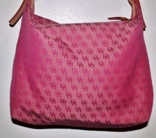 Dooney & Bourke Shoulder Purse Handbag Pocketbook Satchel Leather Monogram Like New Pre Owned Preimum Quality Hobo Bag