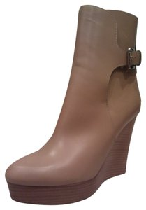 Michael Kors Wedge Platfrom Leather Boots