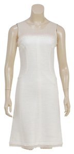 Chanel short dress Cream on Tradesy