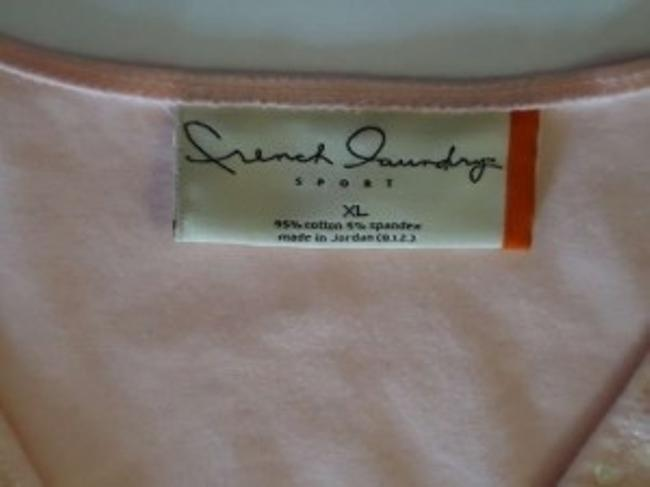 French Laundry Sequins Xl T Shirt Pink