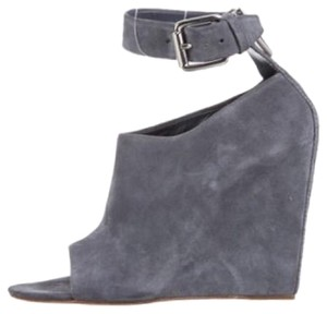 Alexander Wang Blue Wedges
