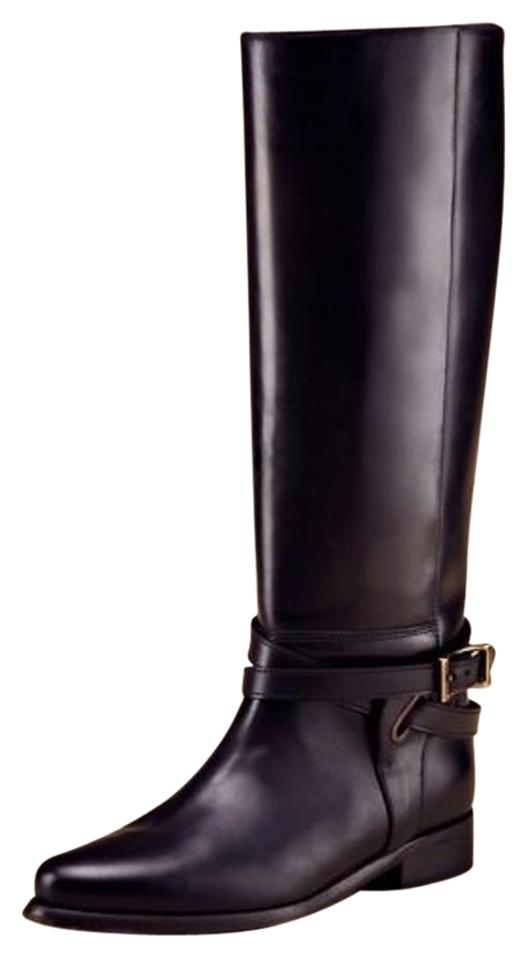 570e42054c9 Burberry Black Adelaide Equestrian Bridle Riding Boots Booties. Size  US 9  Regular (M ...