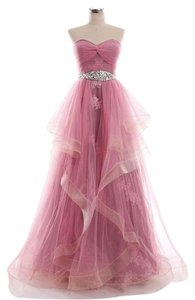 JJ'sHouse Prom Gown Embellished Lace Dress