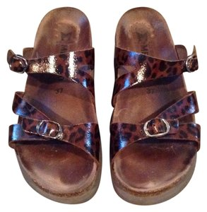 Mephisto Brown and black Sandals