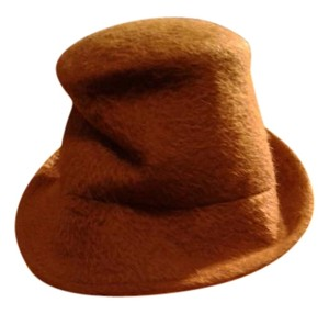 LOLA hats LOLA Fur Felt Hat in camel color