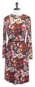 Peter Som short dress Multi Color Floral Print Silk on Tradesy