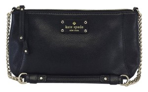 Kate Spade Small Black Leather Shoulder Bag