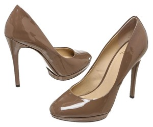 B Brian Atwood Taupe Pumps