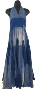 Blue, white Maxi Dress by Boston Proper