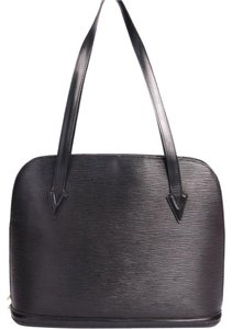 Louis Vuitton Lussac Gm Tote in Black