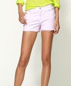 J Brand Cut Off Shorts Lilac