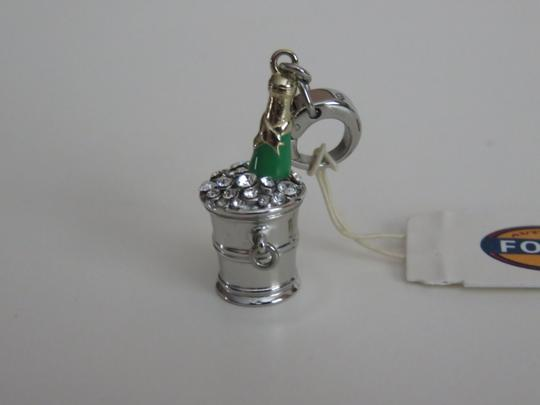 Fossil Fossil Special Occasions or New Years Champagne and Ice Bucket Charm