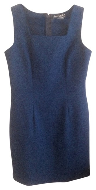 Preload https://item3.tradesy.com/images/blue-cobalt-sleeveless-cocktail-bodycon-mini-small-short-casual-dress-size-6-s-1718967-0-2.jpg?width=400&height=650