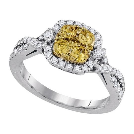Other Luxury Designer 14k Yellow Gold 1.01 Cttw Yellow Diamond Fashion Ring By BrianGdesigns