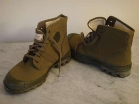 L.L. Bean Work Outdoors Hiking Green Boots