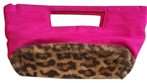 Buzz by jane fox Pink Clutch