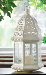 10- Victorian Pattern Medium Lanterns