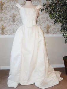 Maggie Sottero Maggie Sottero - 3 Piece - Top Skirt And Detachable Train Wedding Dress