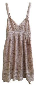 O'Neill short dress Light Pink Floral Lace Trim Strappy on Tradesy