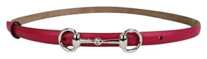 Gucci Hilary Lux Skinny belt with horsebit Buckle