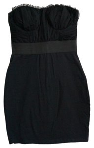 Steve Madden Chiffon Strapless Bodycon Dress