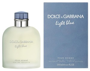 Dolce&Gabbana Light Blue By Dolce&Gabbana eau de toilette spray 200ml/6.7oz For Men. *Brand New*
