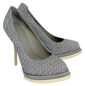 Alexander Wang Grey Scale Stacked Platform Pumps
