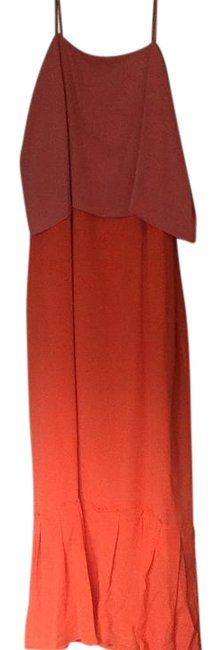 Item - Coral Long Casual Maxi Dress Size 6 (S)