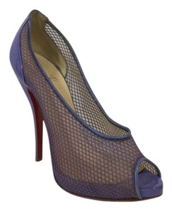 Christian Louboutin Fetilo Peep Toe 125mm Lilac Pumps