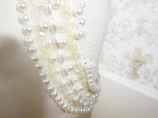 Priscilla Of Boston Vintage Silk Organza Wedding Dress
