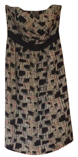 Preload https://img-static.tradesy.com/item/17194738/anthropologie-navycream-print-knee-length-cocktail-dress-size-6-s-0-1-650-650.jpg