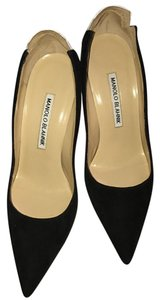 Manolo Blahnik Black and Whitw Pumps