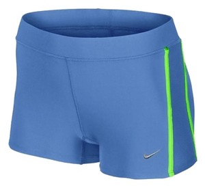 Nike Nike tempo boy women's short Distance dry fit blue lime matte silver XL