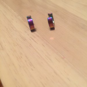 Other Rainbow Huggie Earring