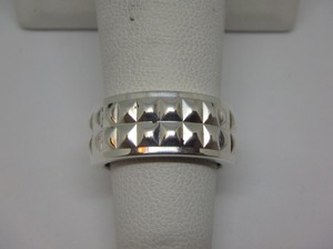 Tiffany & Co. Tiffany & Co Germany Studded Solid Band Ring Size 4