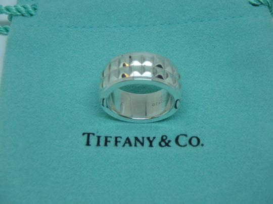 Tiffany & Co. Tiffany & Co Germany Studded Solid Band Ring Size 4 Image 1