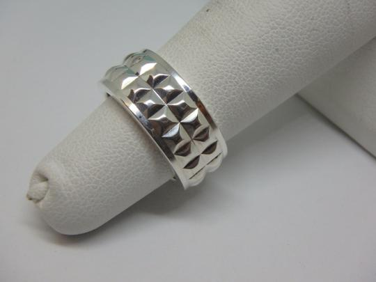 Tiffany & Co. Tiffany & Co Germany Studded Solid Band Ring Size 4 Image 2