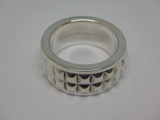 Tiffany & Co. Tiffany & Co Germany Studded Solid Band Ring Size 4 Image 3